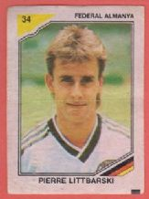 Germany Pierre Littbarski Koln 34